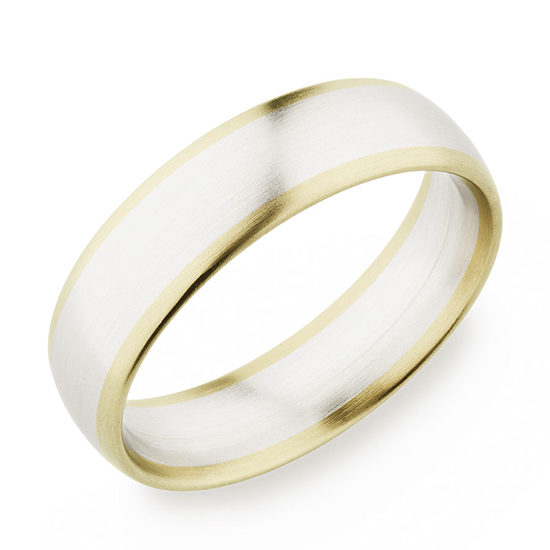 Christian Bauer Two Tone 18k Yellow Gold and 18K White Gold