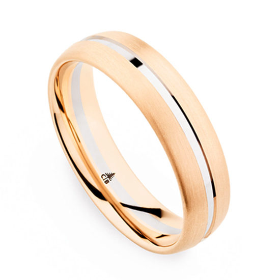 Christian Bauer Two Tone Brushed Band
