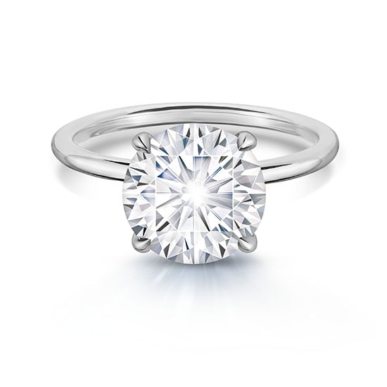 3.06 Carat Round Brilliant DE Solitaire | Marisa Perry by Douglas Elliott