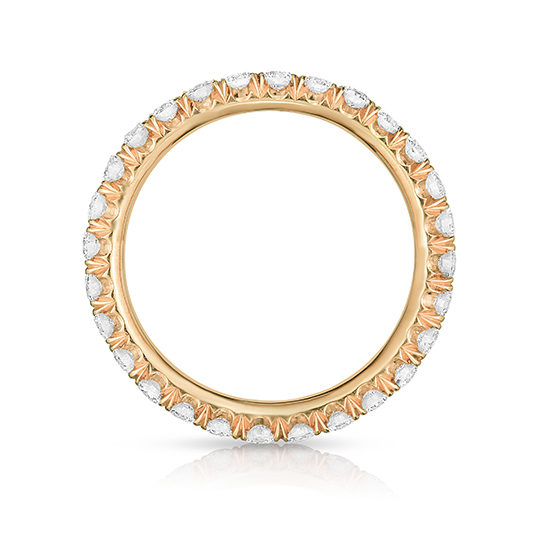 Four Point Band 18k Rose Gold   Marisa Perry by Douglas Elliott