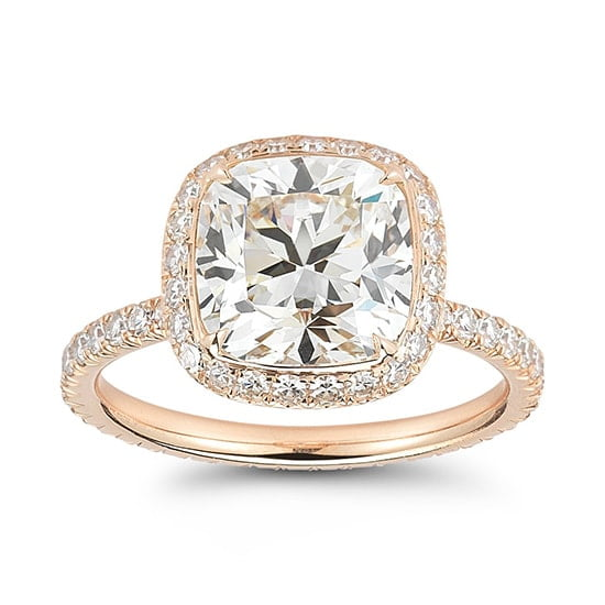 4 Carat Cushion InLove setting | Marisa Perry by Douglas Elliott