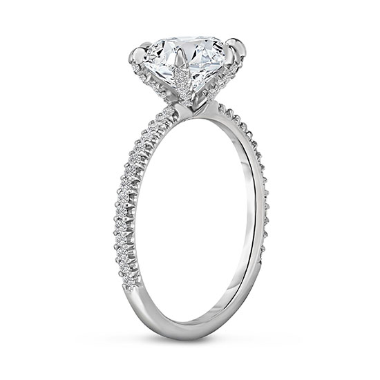 Six Prong DE Diamond Solitaire | Marisa Perry by Douglas Elliott