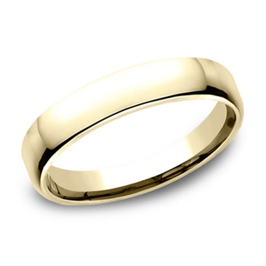 European Comfort Fit Band 14k Yellow Gold