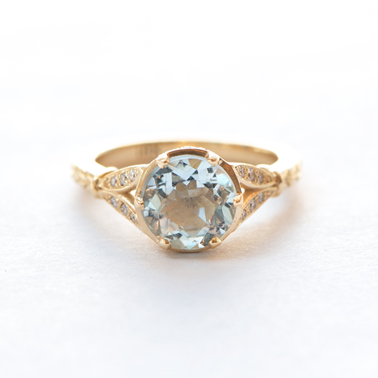 Aquamarine Ring | Marisa Perry by Douglas Elliott