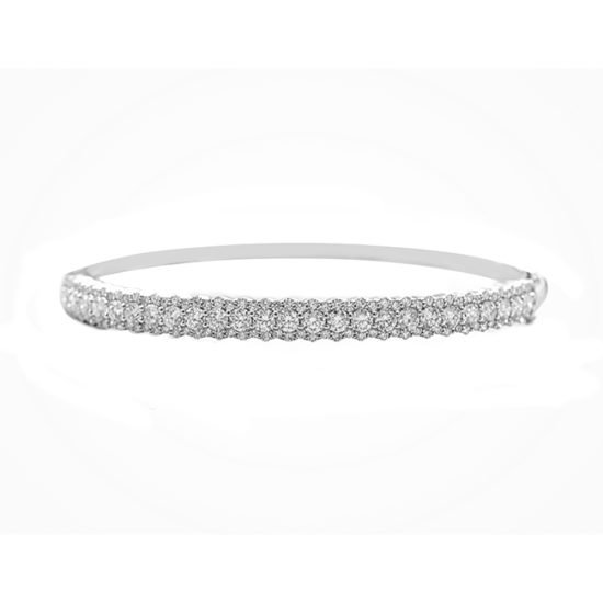 3.15 Carat Diamond Bangle