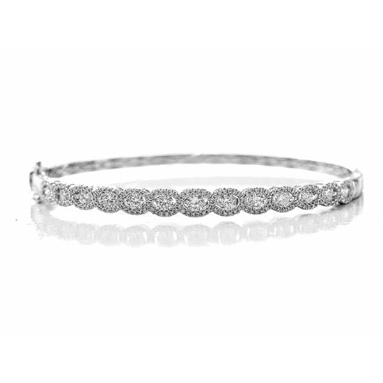 Circle of Diamonds Bangle