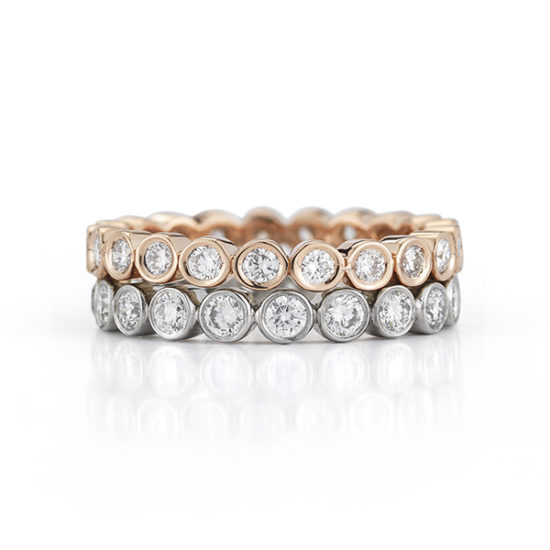Circle Of Love Diamond Band