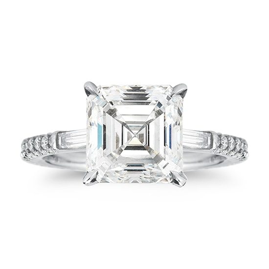 The Asscher Claire Setting | Marisa Perry by Douglas Elliott