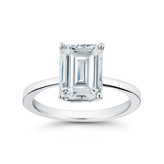 Emerald Cut Solitaire | Marisa Perry by Douglas Elliott