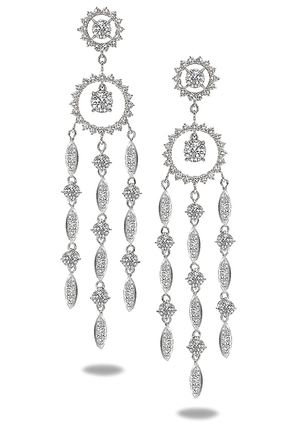 Forevermark Chandelier Earrings
