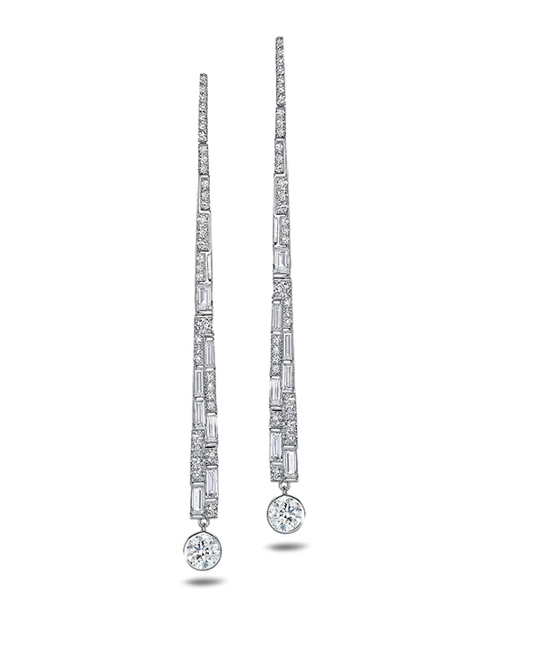 Forevermark Deco Earrings