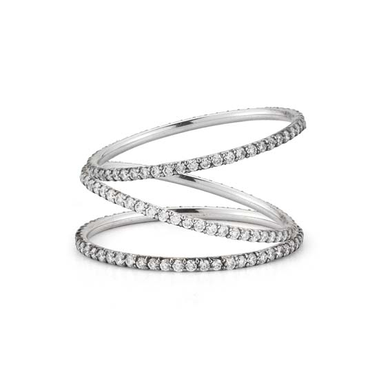 Micro pave Bands