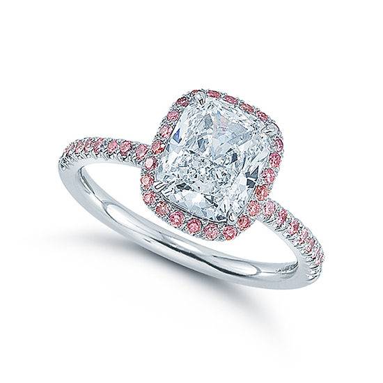 The Pink Diamond Cushion InLove | Marisa Perry by Douglas Elliott