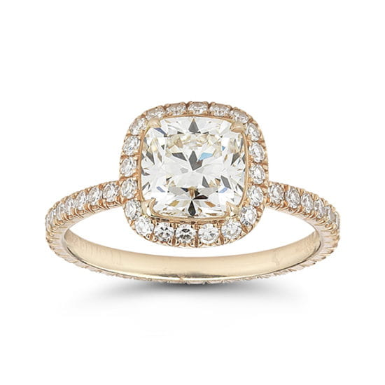 Forevermark Diamond Micro Pave InLove Setting 18K Rose Gold | Marisa Perry by Douglas Elliott