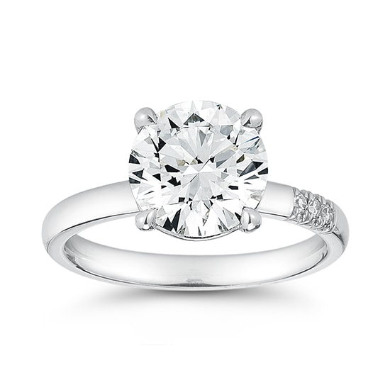 The Douglas Elliott Round Solitaire | Marisa Perry by Douglas Elliott