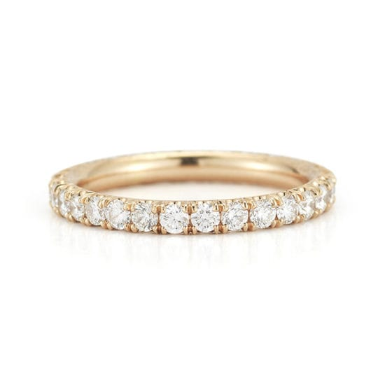 Three Point Band 18K Rose Gold | Marisa Perry by Douglas Elliott