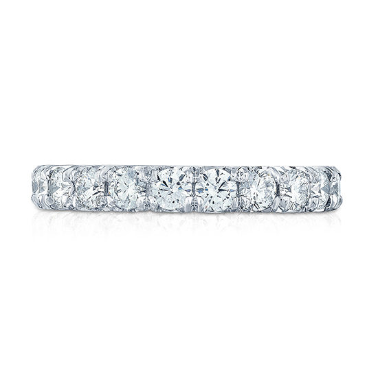 Ten Point Diamond Micro Pave Eternity Band | Marisa Perry by Douglas Elliott