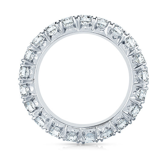 Eight Point Diamond Micro Pave Eternity Band | Marisa Perry by Douglas Elliott