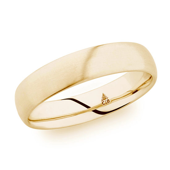 Christian Bauer Satin Finish Band 18K Yellow Gold