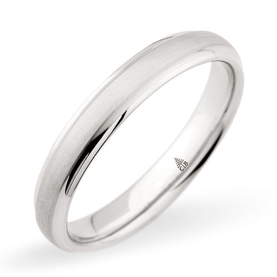 Christian Bauer Brushed Finish Band Platinum