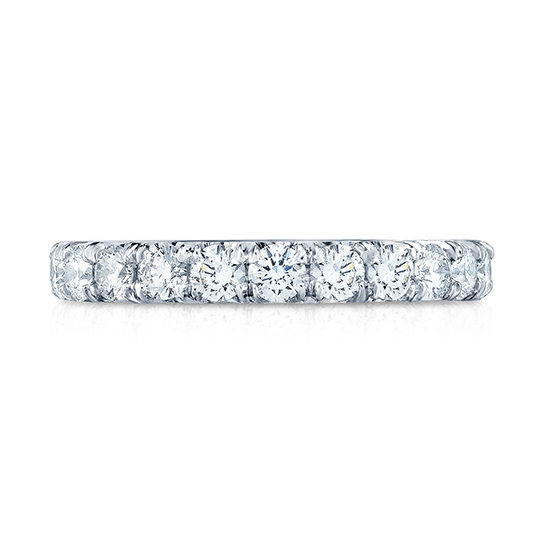 Eight Point Forevermark Diamond Micro Pave Eternity Band | Marisa Perry by Douglas Elliott