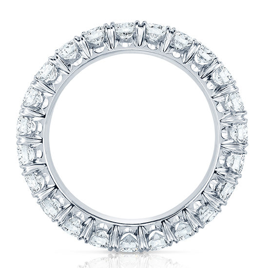 Ten Point Forevermark Diamond Micro Pave Eternity Band | Marisa Perry by Douglas Elliott