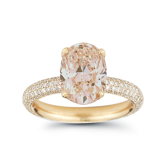 Morganite Victoria Rose Setting 18K Rose Gold | Marisa Perry by Douglas Elliott