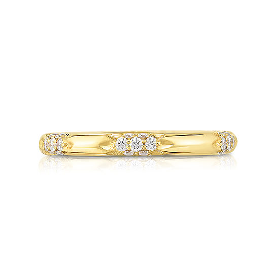 The Nesi Band 18k Yellow Gold | Marisa Perry by Douglas Elliott