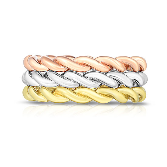 The Dragon Twist Wedding Bands | Marisa Perry by Douglas Elliott