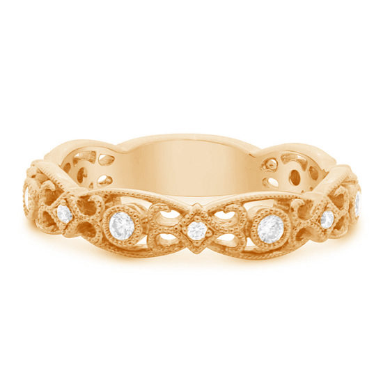 Parisian Filigree Diamond Band