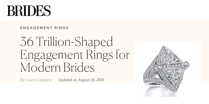 36 Trillion-Shaped Engagement Rings for Modern Brides
