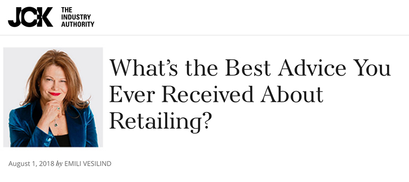 What's the Best Advice You Ever Received About Retailing?