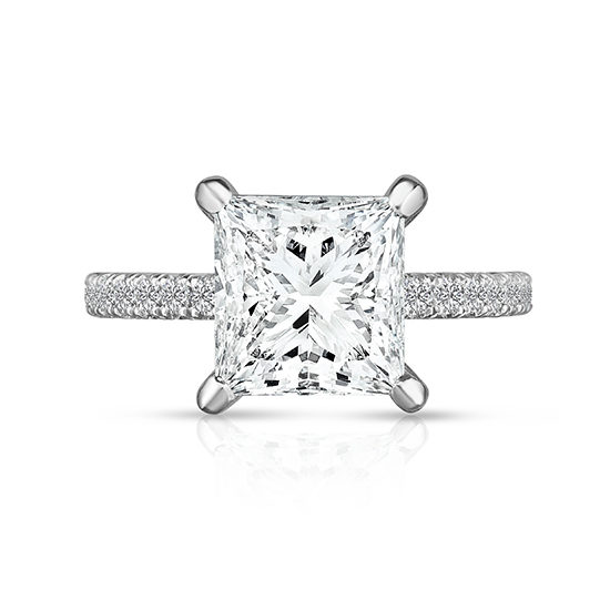 2 Carat Princess Cut DE Diamond Solitaire | Marisa Perry by Douglas Elliott