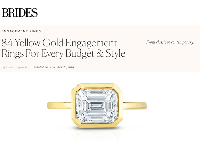 84 Yellow Gold Engagement Rings For Every Budget & Style