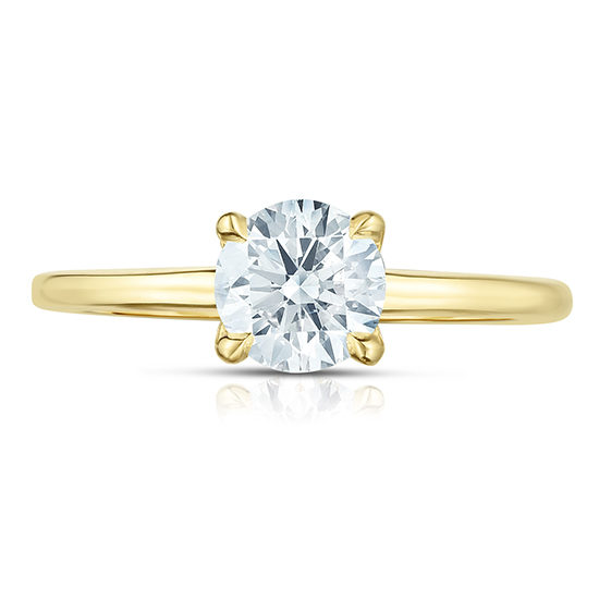 0.71 Carat Round Brilliant Cut DE Solitaire | Marisa Perry by Douglas Elliott
