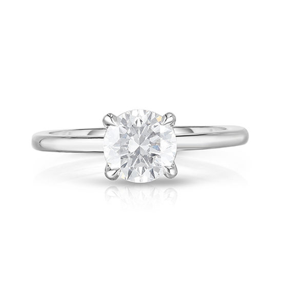 The 1.01 Carat Round Brilliant Cut DE Solitaire | Marisa Perry by Douglas Elliott