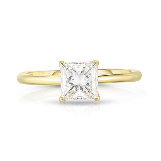The 1.02 Carat Princess Cut DE Solitaire | Marisa Perry by Douglas Elliott