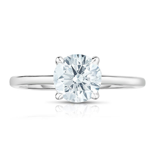 1.03 Carat Round Brilliant Cut DE Solitaire | Marisa Perry by Douglas Elliott