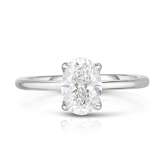 The 1.03 Carat Oval Cut DE Solitaire | Marisa Perry by Douglas Elliott