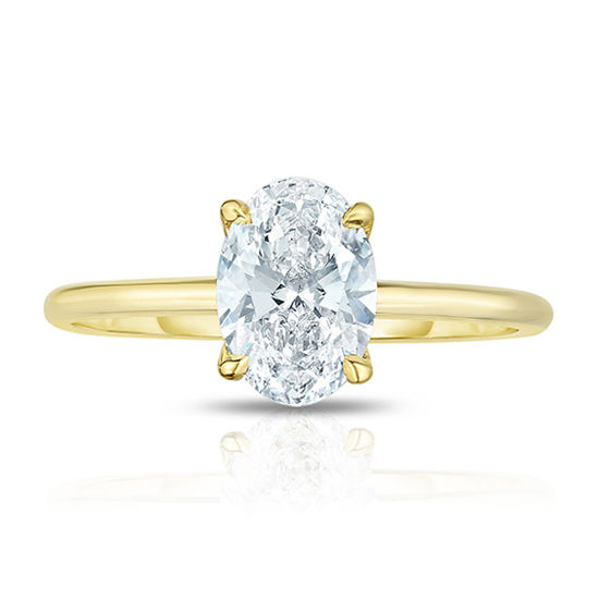 1 Carat Oval Cut DE Solitaire | Marisa Perry by Douglas Elliott