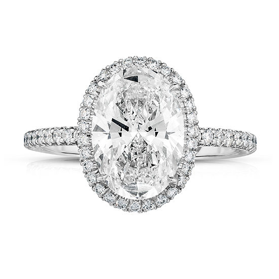 The 2.03 Carat Oval InLove Setting | Marisa Perry by Douglas Elliott