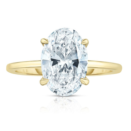 2.10 Carat Oval Cut DE Solitaire | Marisa Perry by Douglas Elliott