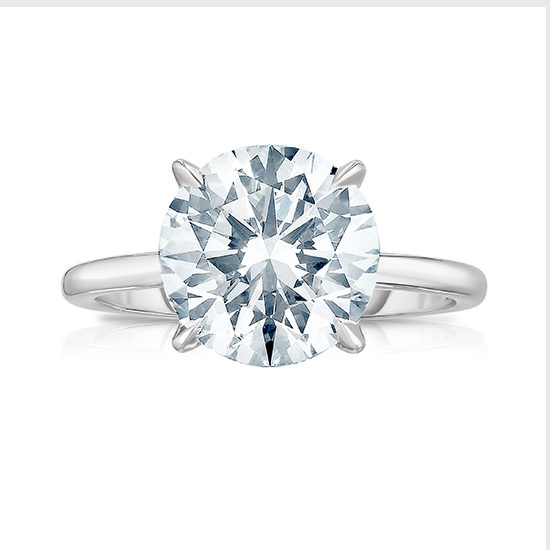 3.12 Carat Round Brilliant Cut DE Solitaire | Marisa Perry by Douglas Elliott