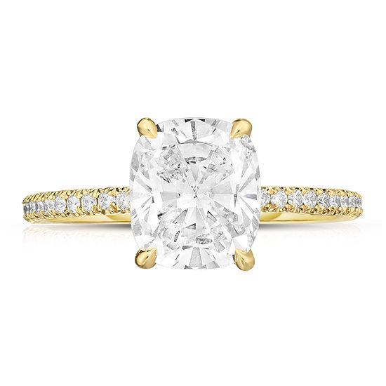 The 2.03 Carat Cushion Cut Diamond DE Lite | Marisa Perry by Douglas Elliott