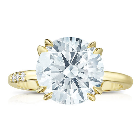 4.02 Carat Round Brilliant Cut DE 2000 | Marisa Perry by Douglas Elliott