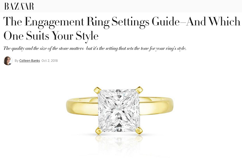 The Engagement Ring Settings Guide–And Which One Suits Your Style