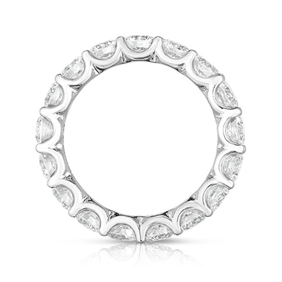Marisa Perry Round Brilliant Cut Diamond Eternity Band | Marisa Perry by Douglas Elliott
