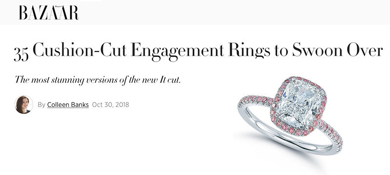 35 Cushion-Cut Engagement Rings to Swoon Over