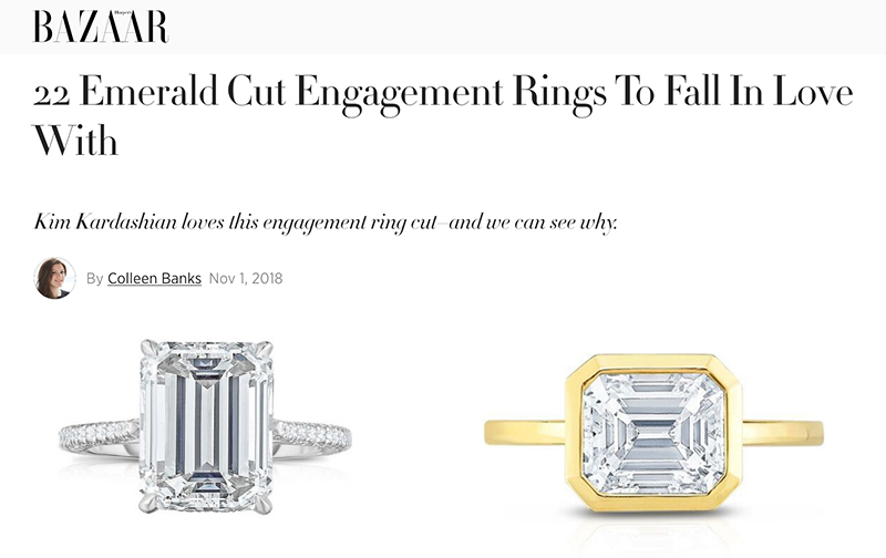 22 Emerald Cut Engagement Rings To Fall In Love With