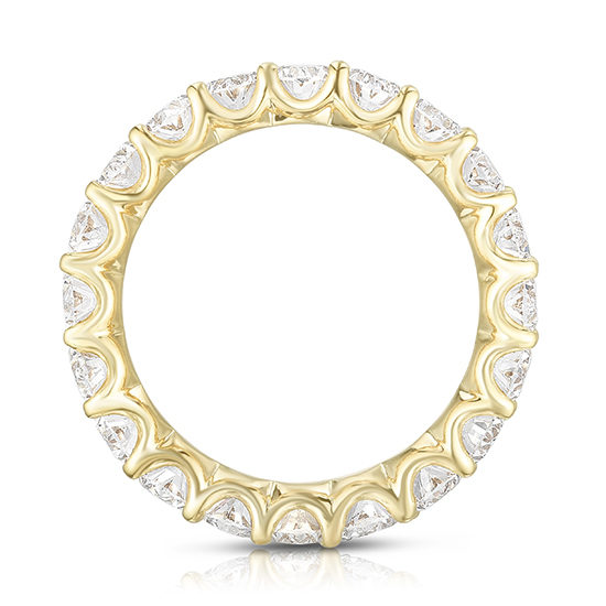 Marisa Perry Oval Cut Diamond Eternity Band 18k Yellow Gold | Marisa Perry by Douglas Elliott